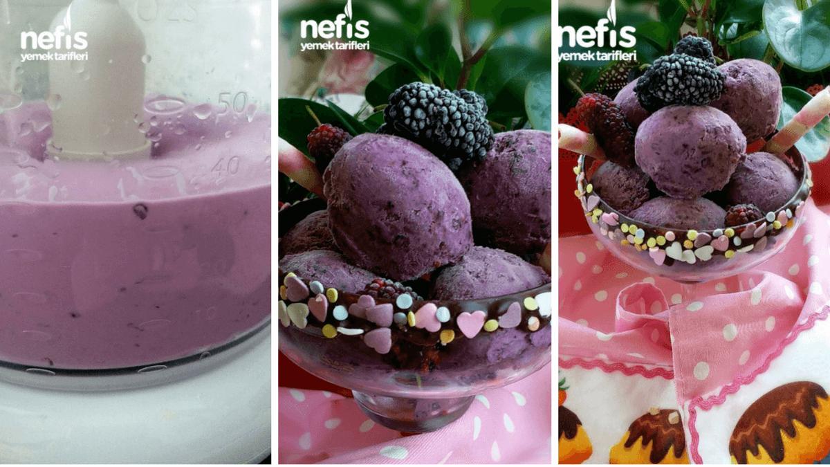 Karadutlu Dondurma Tarifi, Nasıl Yapılır