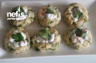 Patates Çanağında Rus Salatası Tarifi