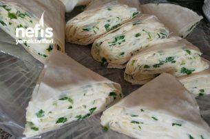 Patatesli Peynirli Buzluk Böreği Tarifi