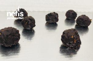 Çikolatalı Yulaf Topları Tarifi