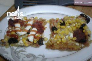Patates Tabanlı Pizza (Gluten Hassasiyeti Olanlara Gerçeğinden Farksız) Tarifi