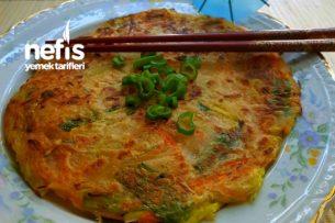Sebze Pancake-Yachaejeon (Kore Usulü) Tarifi