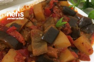 Etsiz Patlıcan Tava (İster Güveçte İster Tencerede) Tarifi