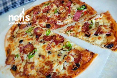 Pizza Hamuru Ve Salçası Yapımı