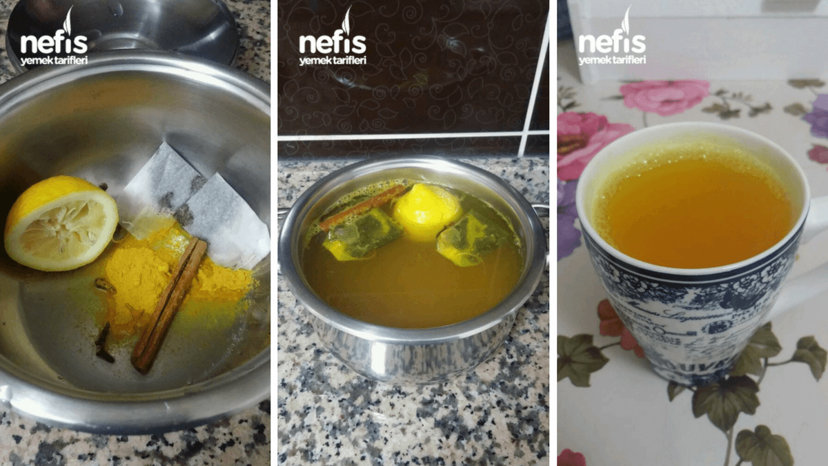 1 hafta da 4 kilo verdiren karanfil çayı tarifi