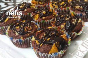 Portakallı Muffin (Çok Hafif ) Tarifi