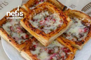 Şipşak Milföy Pizza Tarifi