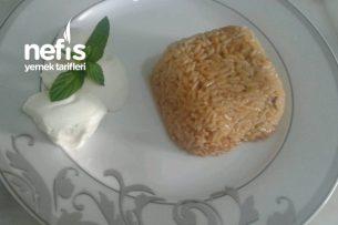 Soslu Pirinç Pilavı (Yalancı Büryan) Tarifi