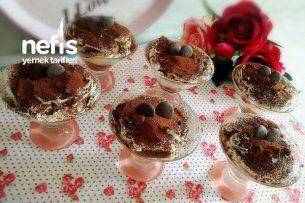 10 Dakikada Çikolatalı Tiramisu Tarifi