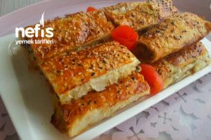 Baklavalık Yufka İle Ispanaklı Börek (Çok Pratik) Tarifi