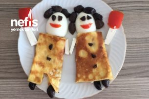 Çocuklara Neşeli Kahvaltı Tarifi
