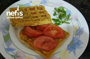 Dereotlu Diyet Waffle Tarifi
