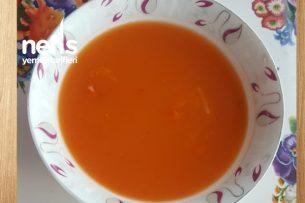 Ecişin Aksam Yemeği (İlikli Kemik Suyundan Tarhana Çorbası) Tarifi