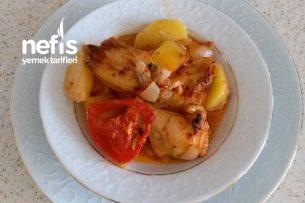Fırında Tavuklu Patates Tarifi