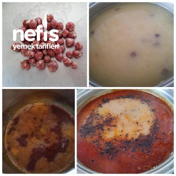 Köfteli Nefis Patates Çorbası