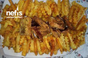 Mısır Unlu Çıtır Patates Ve Patlıcan Tarifi