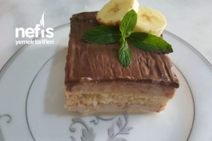 Muzlu Kedidili Pasta (10 dakikada) Tarifi