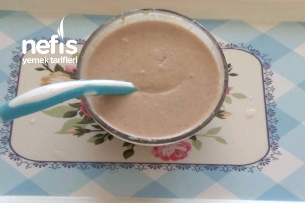 Organik Çilekli Yoğurt (Bebişlere Kilo Aldırır)