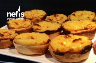 Pasteisde Nata (Portekiz Tatlı) Tarifi