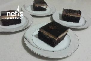Çikolatalı Pratik Pasta (Küçük Kare Borcama) Tarifi