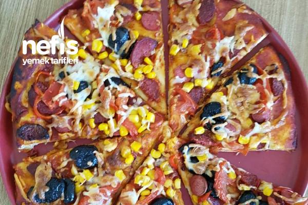 Pizza Hazırlara Veda Ediyoruz Mis Tarifi