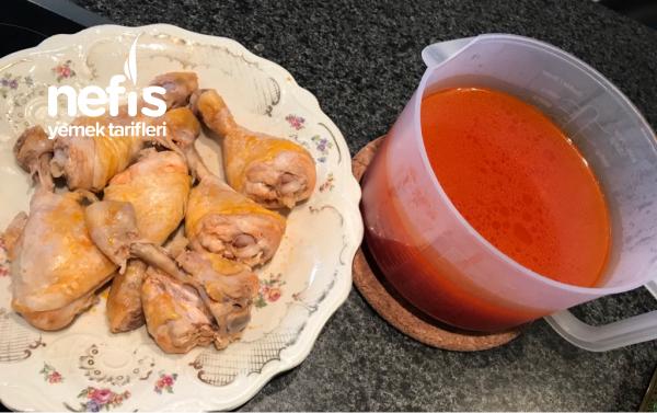 Tavuk Kapama ( Bulgur Pilavı İle)