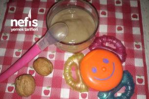 Ballı-Muzlu, Cevizli Kaşık Maması ( 12 ay) Tarifi