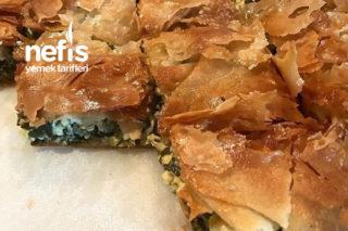Beyaz Peynirli Ispanaklı Yunan Böreği (Spanakopita) Tarifi