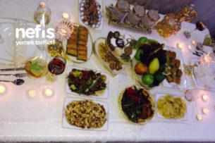 Geleneklerimizden Geline Düğün Günü Masası Tarifi