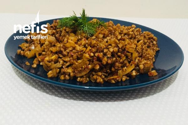 Glutensiz Karabuğday Pilavı