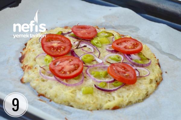 Kahvaltılık Patates Pizzası