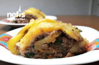 Kıymalı Beşamelli Patates Rulo Tarifi