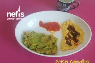 Ecişin Kahvaltısı (Domatesli Avokadolu) Tarifi