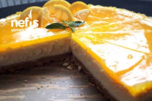 Limonlu Cheesecake (Kasekuchen) Tarifi