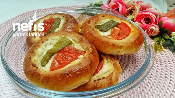 Muhteşem Pizza Poğaça (Pratik Pastane Usulü)