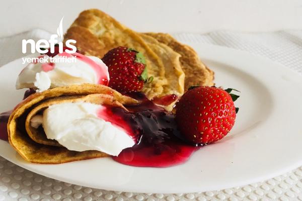 Tatlı Fit Kahvaltı Tarifi
