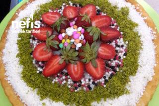 Kremalı Tart Kek Tarifi