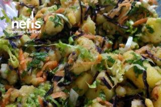 Patates Salatası (Bol Malzemos) Tarifi