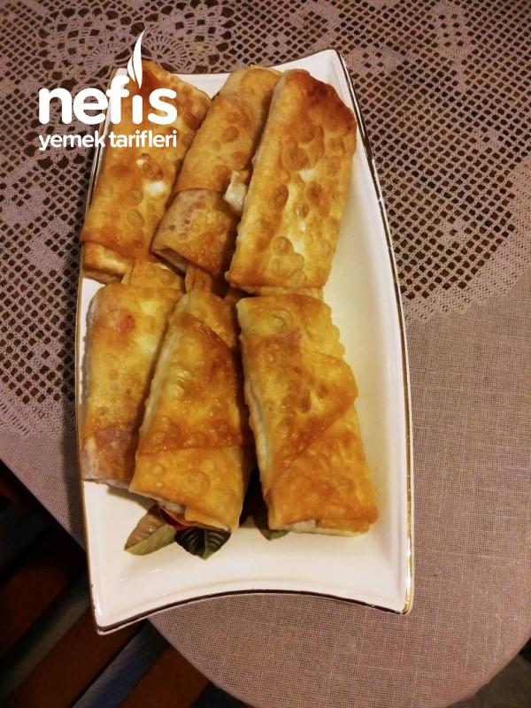 Salamlı Paçanga Böreği
