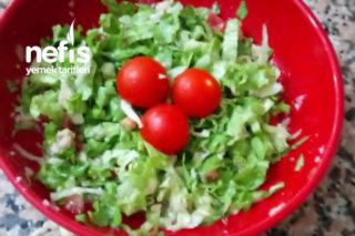 Tek Kişilik Ton Balıklı Salata Tarifi