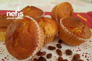 Üzümlü Reçel Dolgulu Muffin Kek Tarifi