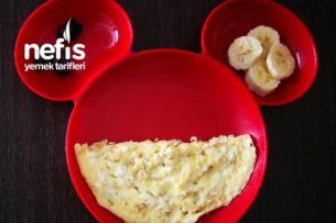 Beyaz Peynirli Omlet ( 8 Ay) Tarifi