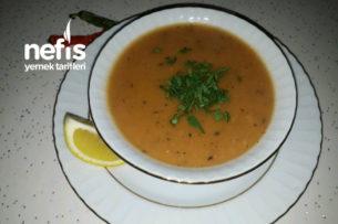 Yeşil Mercimekli Ve Pirinçli Tarhana Çorbası Tarifi