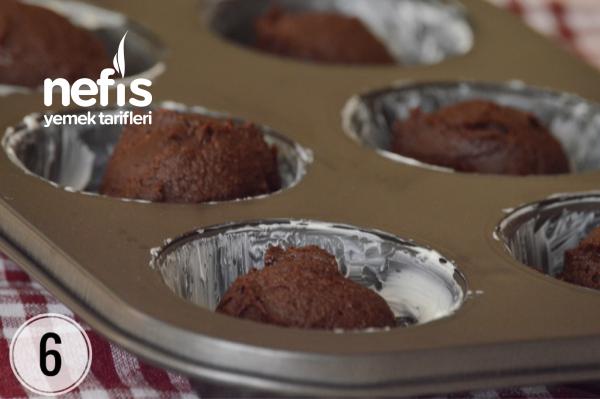 Krema Dolgulu Brownie Kurabiye (Her Aşaması Fotoğraflı)