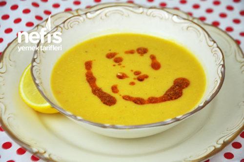 Süzme Sarı Mercimek Çorbası Videosu