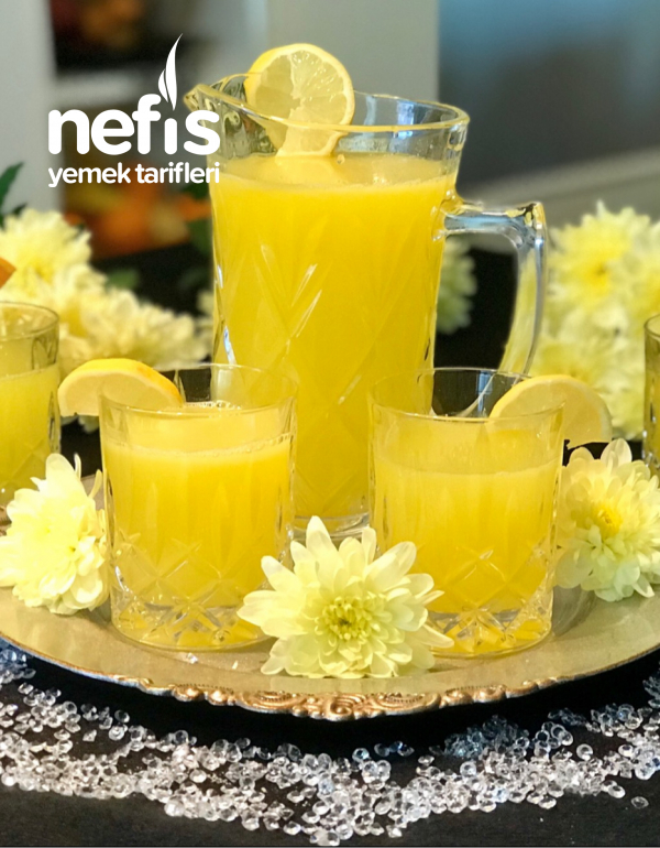 Orjinal Gerçek Limonata Tarifi (Kusursuz)