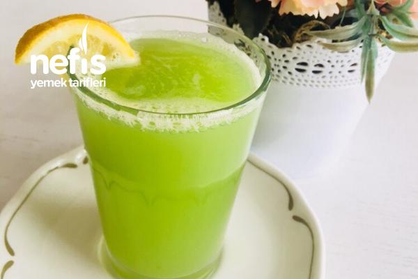 Yeşil Detoks (Yağ Yakıcı Metabolizma Hızlandırıcı) Tarifi