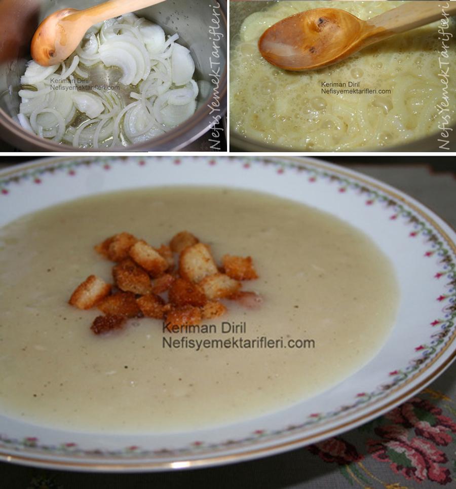 Kolay Soğan Çorbası Tarifi
