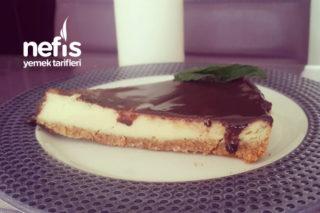 Çikolatalı Cheesecake (Tam Ölçü Aşamalı Resimli) Tarifi