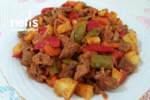 Sebzeli Tencere Kebabı Tarifi